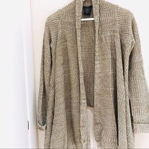 Sweaters - Tan Cardigan Size S NEW